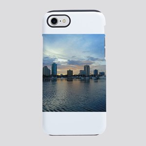 St Pete Skyline iPhone 7 Tough Case