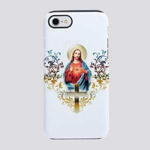 Sacred Heart of Jesus iPhone 7 Tough Case