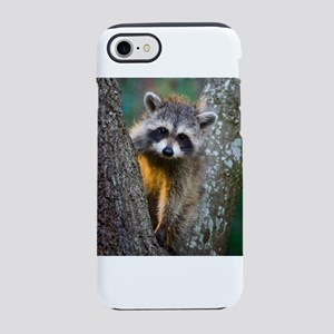 lrg_single_raccoon_clse_up.j iPhone 8/7 Tough Case