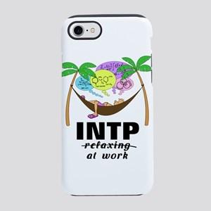 INTP at Work in Hammock iPhone 8/7 Tough Case