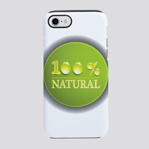100% natural iPhone 8/7 Tough Case