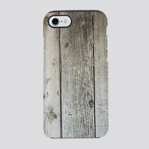 french country whitewashed w iPhone 8/7 Tough Case