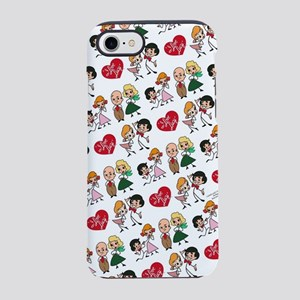 I Love Lucy Character Stick Fi iPhone 7 Tough Case