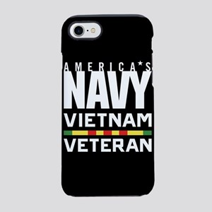 America's Navy Vietnam Veteran iPhone 7 Tough Case