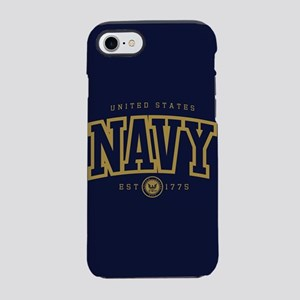 United States Navy Athletic iPhone 8/7 Tough Case