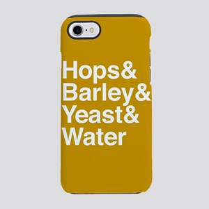 Hops Barley Yeast Water iPhone 7 Tough Case