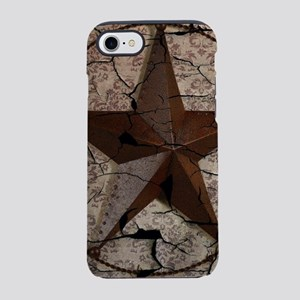rustic texas lone star iPhone 8/7 Tough Case
