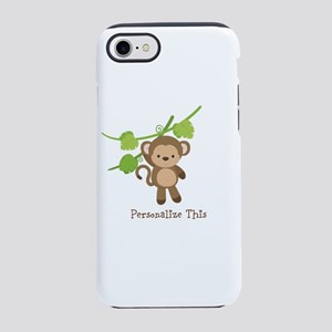 Little Monkey Personalized iPhone 8/7 Tough Case