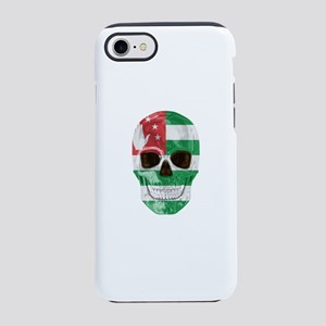 Skull Flag Of Abkhazia iPhone 8/7 Tough Case