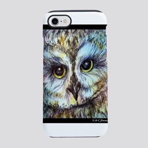 Owl, wildlife art! iPhone 7 Tough Case