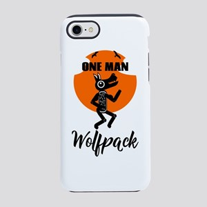 One Man Wolfpack iPhone 8/7 Tough Case