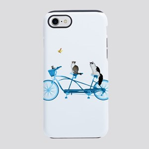 Cat's on a Bike iPhone 7 Tough Case