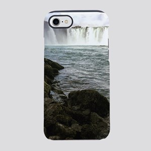 Waterfall in Iceland iPhone 8/7 Tough Case