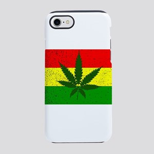 Rastafarian Flag iPhone 8/7 Tough Case