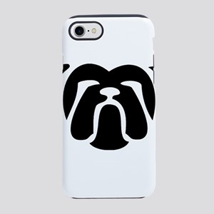 bulldog tribal iPhone 8/7 Tough Case