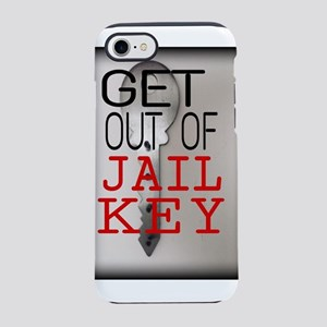 GET OUT JAIL KEY iPhone 8/7 Tough Case
