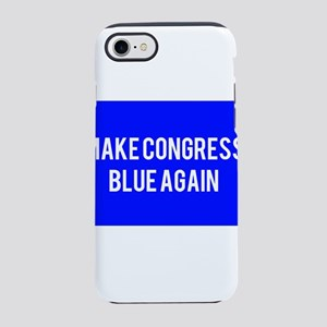 Make congress blue again iPhone 8/7 Tough Case
