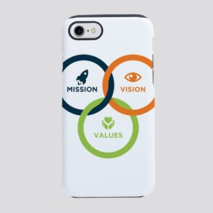 Mission-Vision-Values iPhone 8/7 Tough Case