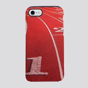 Track lanes iPhone 7 Tough Case