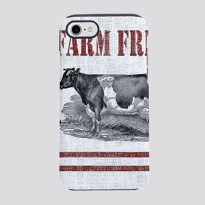 Country Chic Cow Farmhouse iPhone 7 Tough Case