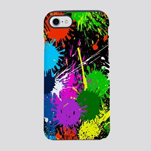 Paint Splatter iPhone 8/7 Tough Case