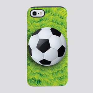 Ball On Grass iPhone 7 Tough Case