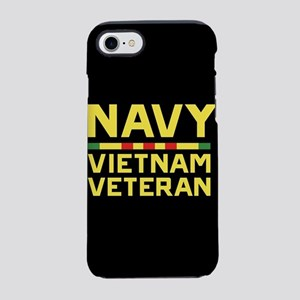U.S. Navy Vietnam Veteran iPhone 7 Tough Case