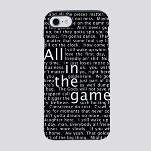 The Wire Epigraph Pattern iPhone 7 Tough Case