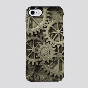 Steampunk Cogwheels iPhone 7 Tough Case