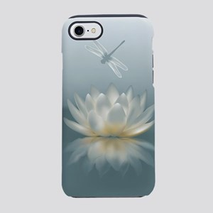Lotus and Dragonfly iPhone 7 Tough Case