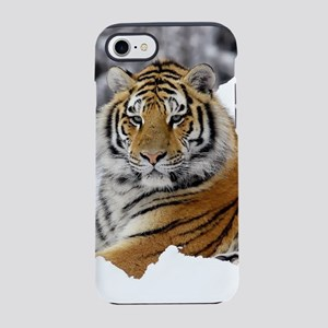 Tiger In Snow iPhone 8/7 Tough Case