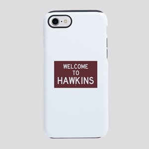 Welcome to Hawkins iPhone 7 Tough Case
