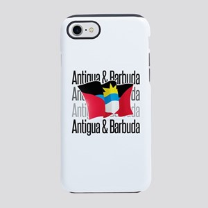 Antigua Barbuda Black iPhone 7 Tough Case