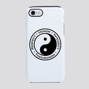 Respect Honor Integrity Tkd iPhone 8/7 Tough Case