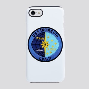 on sale 5d91e 69235 Uss Intrepid Cvs 11 IPhone Cases - CafePress