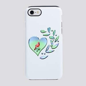Cardinal Lover iPhone 7 Tough Case