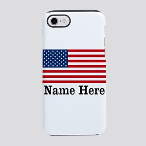 Personalized American Flag Iphone 8/7 Tough Case