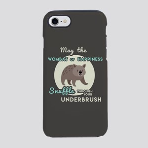 Wombat of Happiness iPhone 8/7 Tough Case