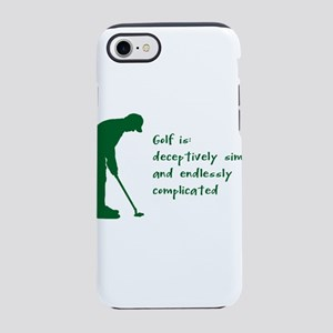 competitive price e7e0a 48be0 Golfers IPhone 8/7 Cases - CafePress