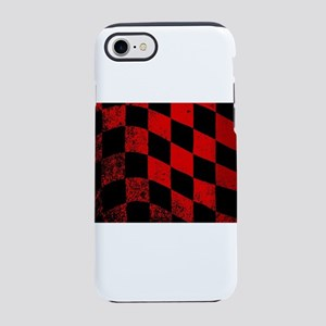 Dirty Chequered Flag iPhone 8/7 Tough Case