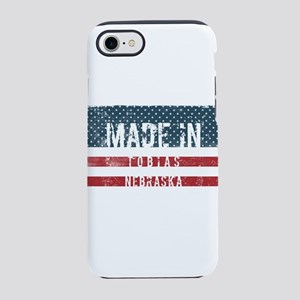 Made in Tobias, Nebraska iPhone 8/7 Tough Case