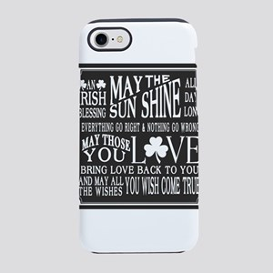 Shamrock, Green, Irish, St P iPhone 8/7 Tough Case