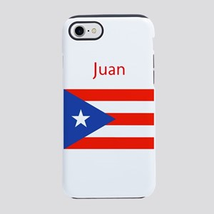 Custom Name Bandera Boriqua 23 Pahtay iPhone 8/7 T