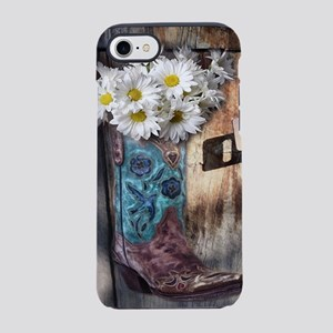 rustic daisy western country iPhone 8/7 Tough Case