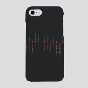 Grey's Vertical Character Name iPhone 7 Tough Case