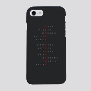 Grey's Horizontal Character Na iPhone 7 Tough Case
