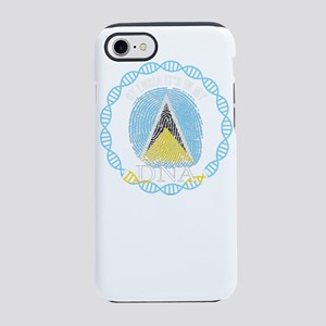 St Lucia Its In My DNA iPhone 8/7 Tough Case