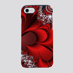 Red Sweetheart Fractal iPhone 7 Tough Case
