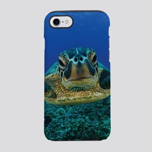 Turtle Swimming iPhone 8/7 Tough Case