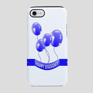 Happy Birthday Balloons IPhone 8 7 Tough Case